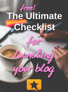 free ultimate blog launch checklist