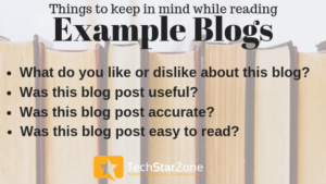 example blog how to read how to become better blogger
