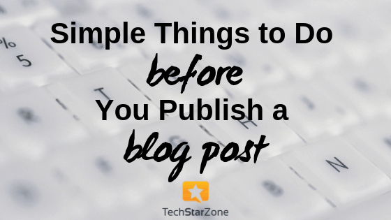 before blog publish post productivity social media content marketing