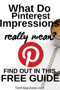 what do Pinterest impressions mean