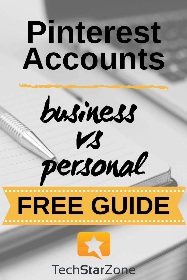 pinterest business account vs personal