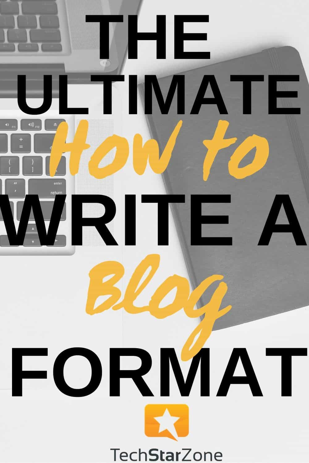 how to write an article or blog
