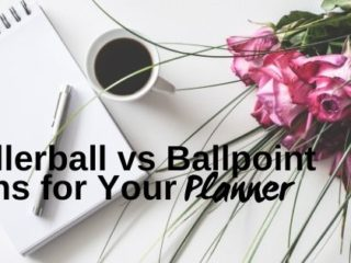 rollerball vs ballpoint pens