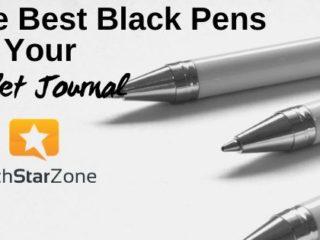 best black pen for bullet journal guide