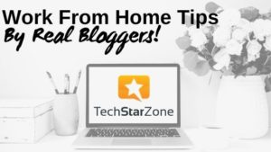 real work from home tips by bloggers with kids