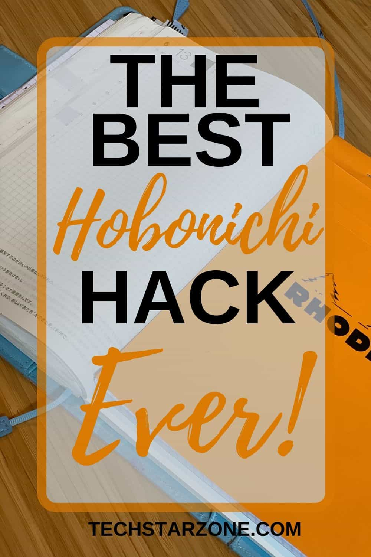 hobonichi hack Rhodia