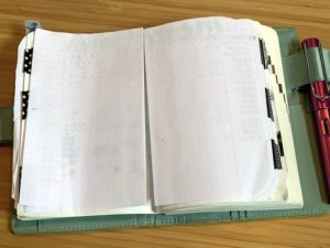 hobonichi techo dot paper