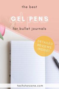 best gel pen for bullet journals
