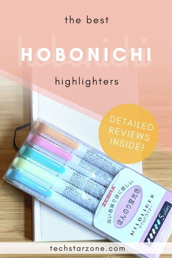best highlighter for hobonichi