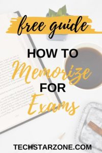 how to memorize faster and easier for exams
